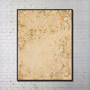 Contemporary Wall Art Autumn Leaves Abstract Wall Print without Frame 36'*48'