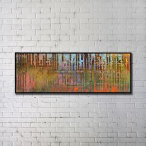 Contemporary Wall Art Lines Abstract Wall Print without Frame  60'*20' F