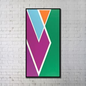 Contemporary Wall Art Geometric Abstract Print without Frame 20'*40' B