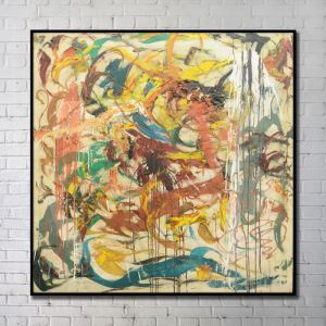 Contemporary Wall Art Wind Abstract Wall Print without Frame 40'*40' F