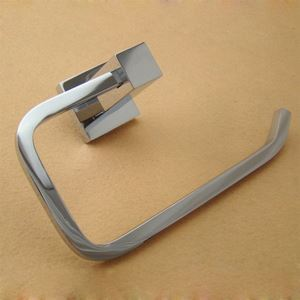 New Modern Wall Mounted Chrome-colored Toilet Paper Holder Brass Toilet Roll Holder