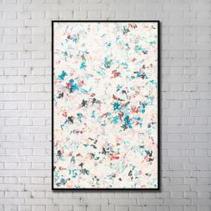 Contemporary Wall Art Floral Abstract Wall Print without Frame 28'*48' B