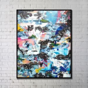 Contemporary Wall Art Abstract Wall Print without Frame 36'*48'