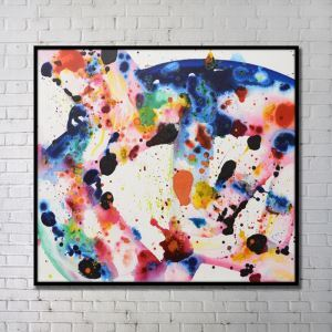 Contemporary Wall Art Abstract Wall Print without Frame 40'*40'