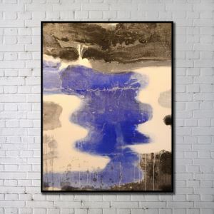 Contemporary Wall Art Rivers Abstract Wall Print without Frame 36'*48' A