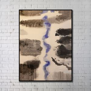 Contemporary Wall Art Rivers Abstract Wall Print without Frame  48'*60' B