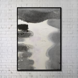 Contemporary Wall Art Rivers Abstract Wall Print without Frame 36'*48' C