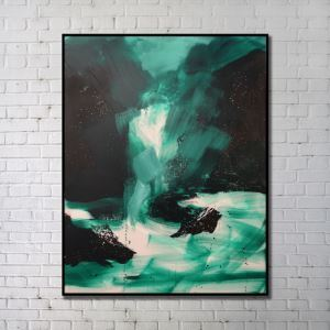 Contemporary Wall Art Waterfall Abstract Wall Print without Frame 36'*48' C