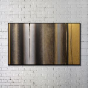 'Contemporary Wall Art Warm-toned Abstract Wall Print without Frame 48'*28' E