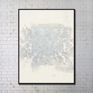 Contemporary Wall Art Natural Things Abstract Wall Print with Black Frame 32'*48' C