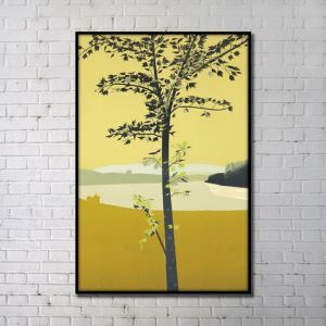 Contemporary Wall Art Natural Things Abstract Wall Print without Frame 24'*36' E