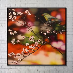 Contemporary Wall Art Flowers Abstract Wall Print without Frame 40'*40' C