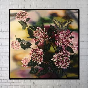 Contemporary Wall Art Flowers Abstract Wall Print without Frame 40'*40' G