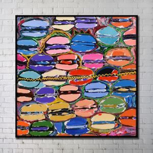 Contemporary Wall Art Bright Abstract Wall Print without Frame 40'*40' C