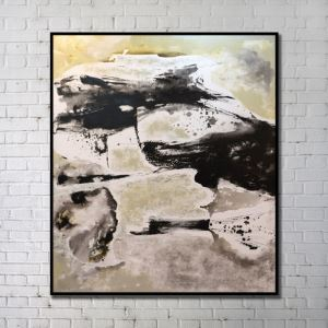 Contemporary Wall Art Abstract Wall Print without Frame  36'*40' C