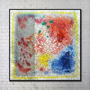 Contemporary Wall Art Abstract Wall Print without Frame  40'*40' F