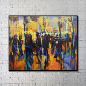 Modern Wall Art Abstract Wall Print without Frame 48'*36' A