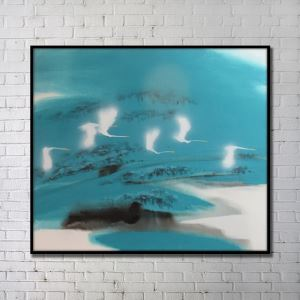 Modern Wall Art Abstract Wall Print without Frame 48'*36' K