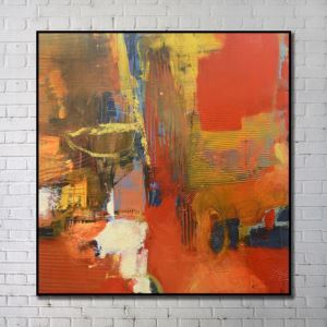 Contemporary Art Gallery Abstract Wall Print without Frame 40'*40'