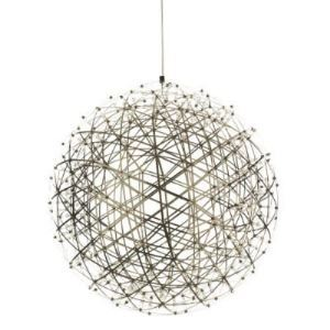 12' Sparkling LED Ball Suspension Pendant