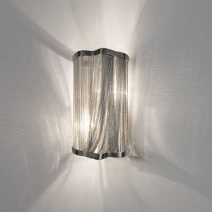 Beautiful Designer Lighting Chain Hanging Wall Sconce