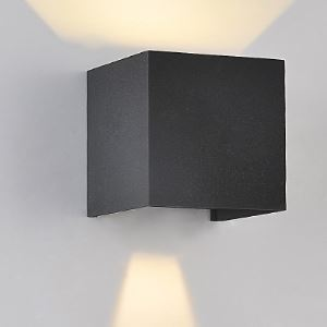 "Adorable and Chic Wrought Iron 3.93""Wide Designer Cube Wall Light"