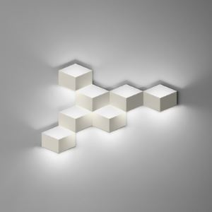 Trendy and exquisite Seven Cubes Wall Light in Designer Style