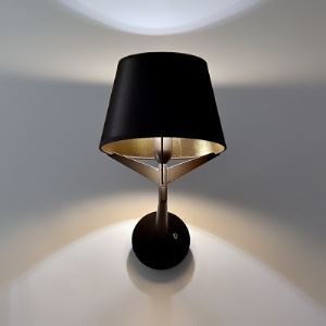 Fabric Shade Bold Design 11.8'Wide Wall Light