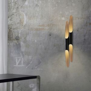 "Bold Design 3.1""Wide/39.3""High Long Pipe Shaped Designer Wall Lights"
