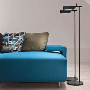 "43.3""Height Aluminum Designer Floor Lamp in Simple and Brilliant Design"