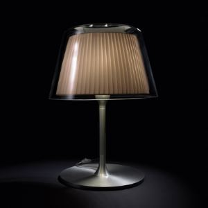 Clear Glass Outer Shade 26.7'High Designer Table Lamp