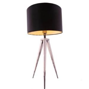 "27.9""High Drum Shade and Tripod Based Designer Floor Lamps"