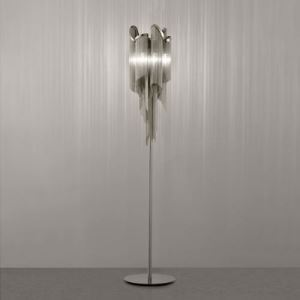 Chain Shaded Floor Lamp in Modern Designer Fashion