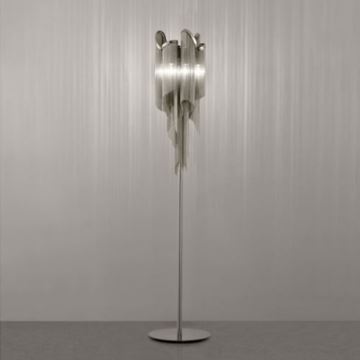 Chain shaded floor lamp in modern designer fashion homelava chain shaded floor lamp in modern designer fashion aloadofball Gallery