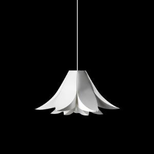Mini White Lily Pendant Modern Style for Dinning Room