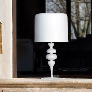 "Exquisite Water Drops 22.8""High Designer Eva Table Lamps"
