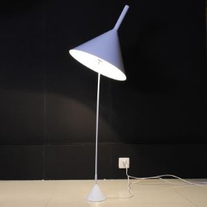 "Designer Style Modern Floor Lamp 55.1""High with Cone Shade"