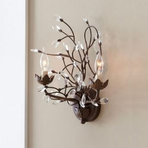 Enhance Look of  Hallway or Dining Area with Exquisite Double Arm Wall Sconce
