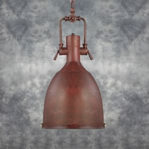 12'' Wide Weathered Copper 1 Light Dome Pendant Lighting