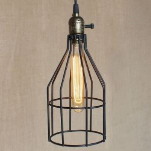 Industrial Indoor 1 Lt Mini Pendant in Matte Black Finish