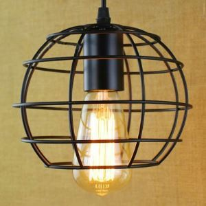 7 Inches Wide Vintage Satin Black 1 Light Small Pendant