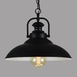 Matte Black 1 Light Full Sized Pendant