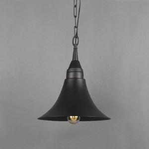 11 1/4'' Wide Single Light Cone Swing Pendant Lighting in Black