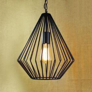 12'' Width Satin Black Diamond Single Light Pendant