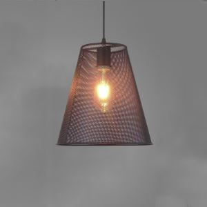 Empire Single Light Industrial Foyer Pendant Light