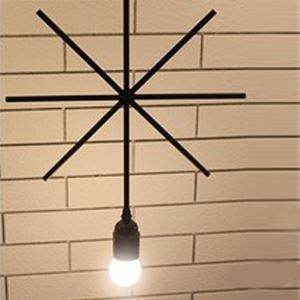 12'' Wide Industrial Windmill 1 Light  Pendant Lantern