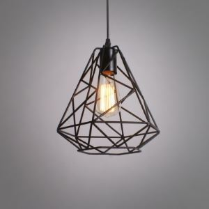 10' Wide Forged Iron Mini-Pendant Light