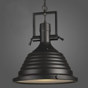 16 Inches Wide Black Large Barn Pendant Lighting