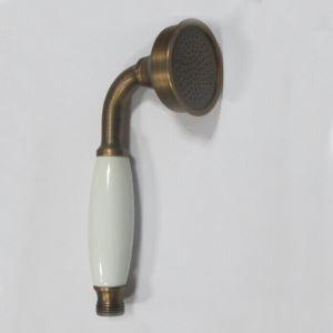6.3Dx17.9Lcm Round Handheld Brass Showerhead(Antique Brass Finish)