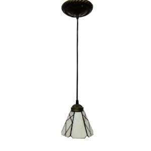 White Glass Tiffany Mini Pendant for Dinning Room